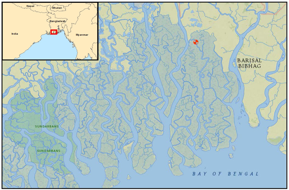 Map Of The Region Where The Spill Occurred With The Approximate Site Of The Spill Denoted With A Red Symbol Noaa Click To Enlarge