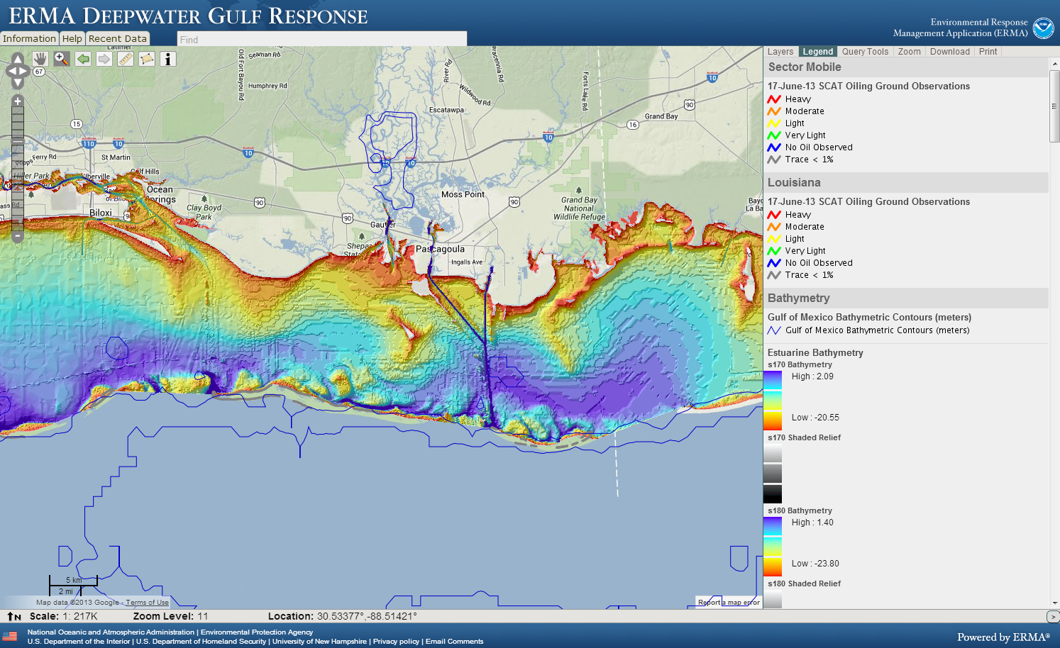 Why You Should Thank A Hydrographer Responserestorationnoaagov - Water depth map