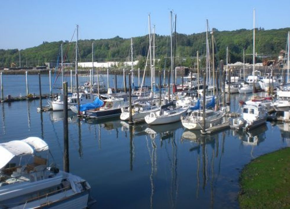 Marina with recreational boats. Image credit: NOAA.