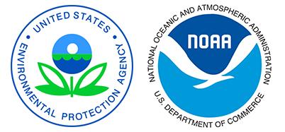 EPA and NOAA logo.
