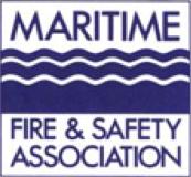 Maritime Fire & Safety Association logo.