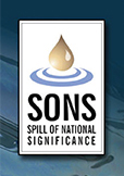 Spill of National Significance logo.