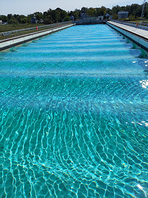 Large pool.