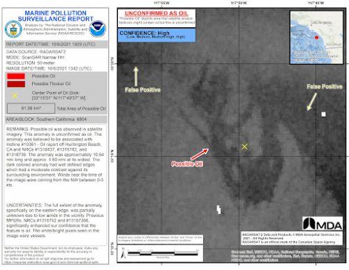 A marine pollution surveillance report.