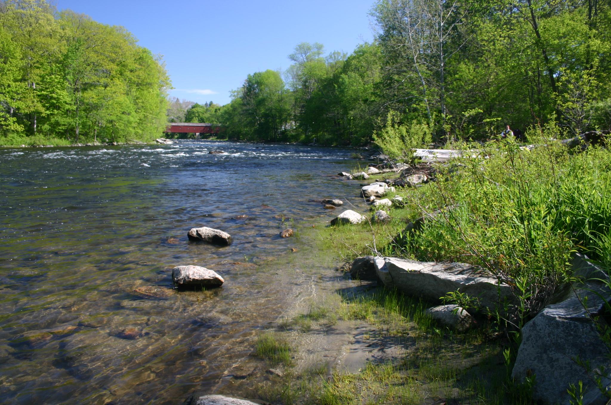 Housatonic River in Connecticut