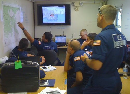 Members Of The U S Coast Guard Using Erma During The Response To Hurricane Isaac In 2012 Noaa