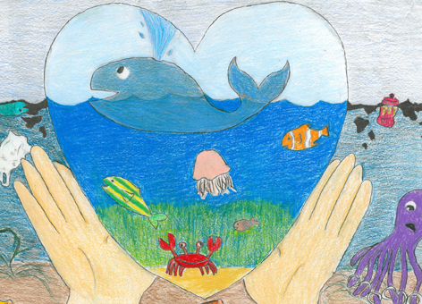 The cover of the 2014 Marine Debris Planner.