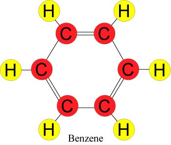 chemistry of an oil spill   response restoration noaa govdiagram of the molecular structure of benzene