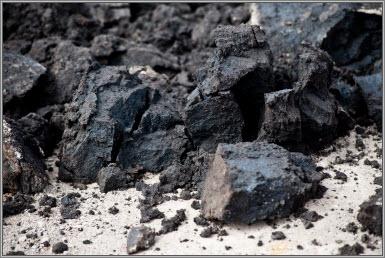 Bitumen.