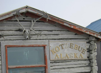 A classic building on the Kotzebue waterfront.