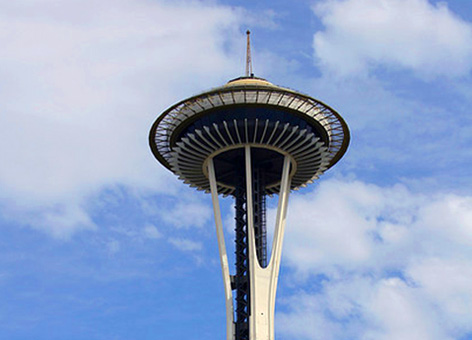 Seattle Space Needle.