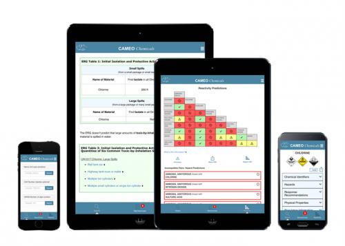 Meet the New CAMEO Chemicals Mobile App | response restoration noaa gov
