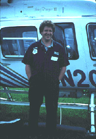 NOAA's Doug Helton during the response to the 1993 Tampa Bay oil spill.