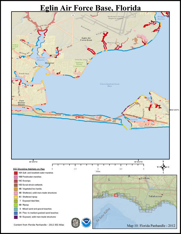 Show Map Of Florida Panhandle.Pdf Maps For The Florida Panhandle Response Restoration Noaa Gov
