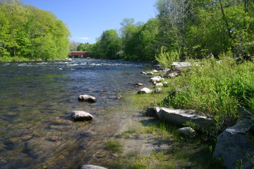 Housatonic River in Connecticut