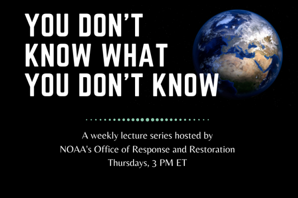 Poster for the lecture series, You Don't Know What You Don't Know.