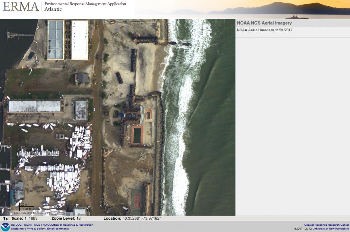 Atlantic Erma And The Sandy Response Response