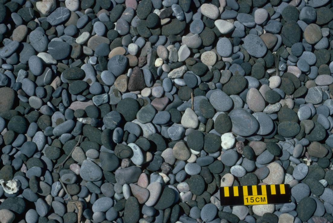 Photo of pebbles.