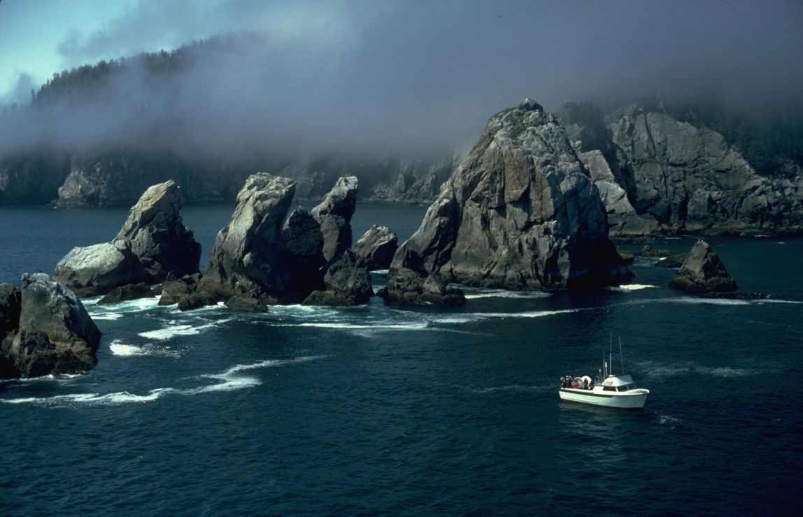 Photo: Rocky headlands and islets.