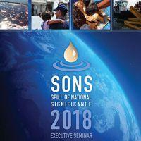 Program cover for SONS 2018.
