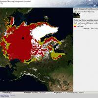 Screen shot of a map.