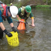 Scientists assessed mussel impacts from response to Kalamazoo River oil spill.