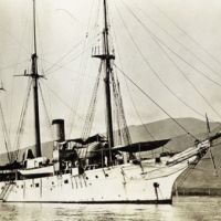 NOAA Coast and Geodetic Survey Steamer PATTERSON in Hawaii in 1913.