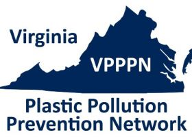 A logo for the Virginia Plastic Pollution Prevention Network.