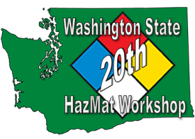 20th Washington State HazMat Workshop logo.