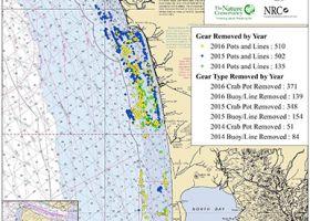 Map of the Washington coast.