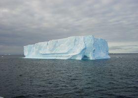 An iceberg.