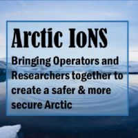 Banner promoting Arctic IoNS.