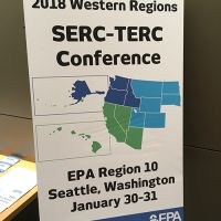 poster for the 2018 Western Regions SERC Conference.