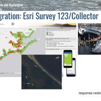 Slide from presentation highlighting data integration feature.