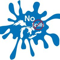 Logo for the conference - cartoon of a spill.
