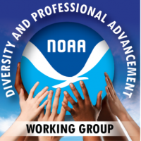 Working group logo (hands and NOAA logo)