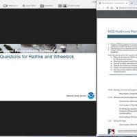 Screenshot from virtual meeting.