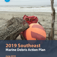 Southeast Marine Debris Action Plan Report cover.