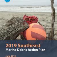 Southeast Marine Debris Action Plan Report cover.