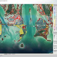 Screen shot of an ERMA map.