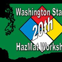 20th Washington State HazMat Workshop logo.