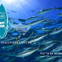 Poster for Marine Sanctuary event.