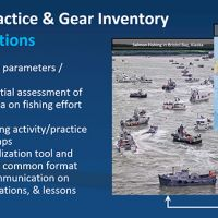 """""""Fishing Practice and Gear Inventory Project Actions"""" poster"""