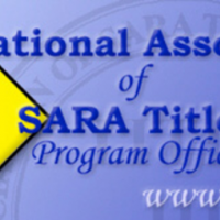 Banner: National Association of SARA Title III Program Officials.