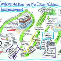 An illustration highlighting post-Exxon Valdez developments.