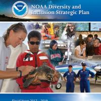 Brochure cover of NOAA Diversity Plan.