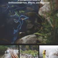 Cover of report: Spills of Diluted Bitumen from Pipelines...