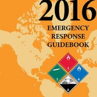 Cover of 2016 Emergency Response Guidebook.