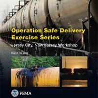 "Cover of report, ""Operation Safe Delivery Exercise Series""."