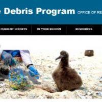 Marine Debris web banner.